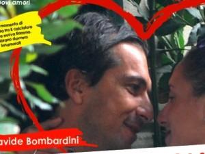 Bombardini dimentica Giorgia Palmas: Baci e abbracci con Allegra