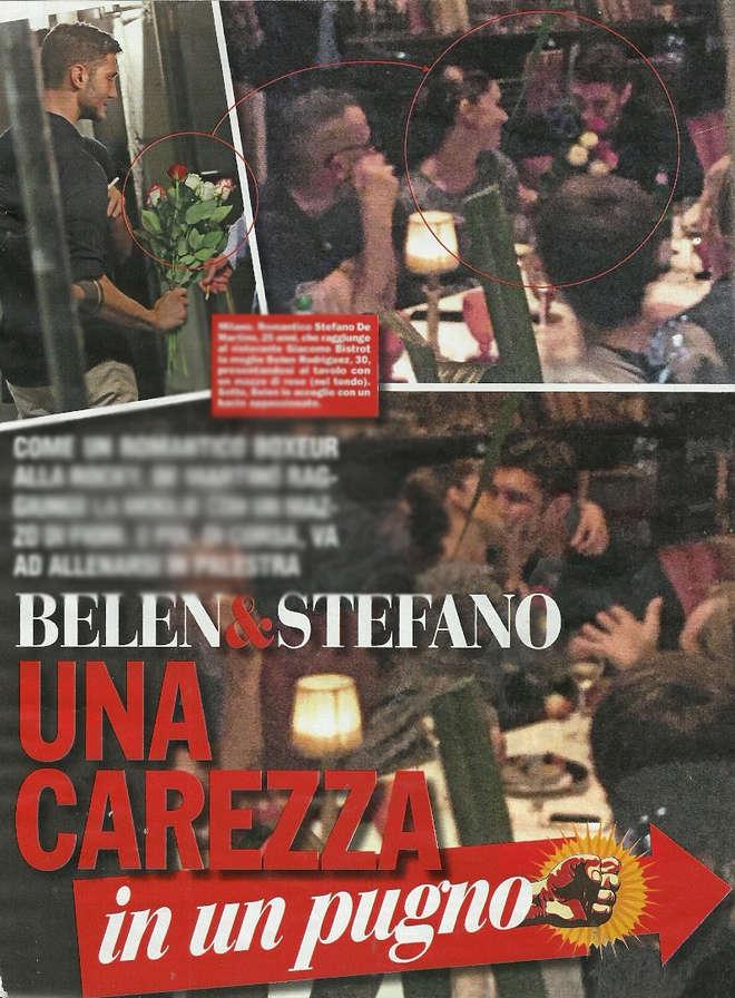 Stefano De Martino, sorpresa a Belen mentre lei apre un ristorante con Joe Bastianich